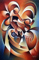 Kiabakari Artysta Florian Ludovick Kaija Obraz 1