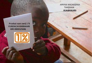 Fundacja Kiabakari Podaruj 1% podatku