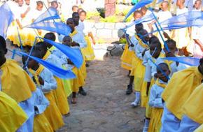 Kiabkari dzieci taniec kultura